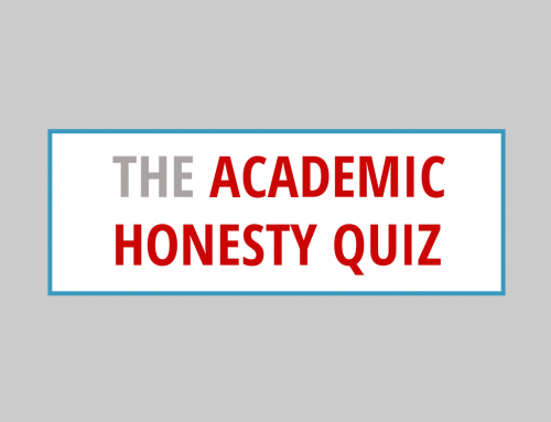 Academic Honesty Quiz