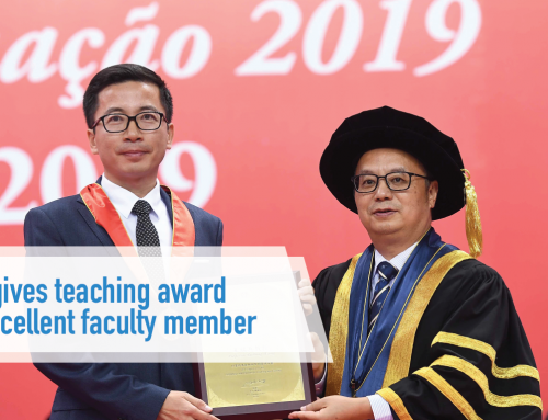 UM gives teaching award to excellent faculty member
